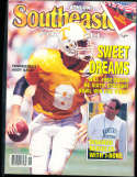 1991 SEC Southeastern Conference Tennessee Athlon National College Football Annual Yearbook Guide