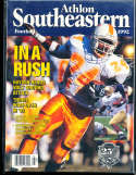 1992 SEC Southeastern Conference Tennessee Athlon National College Football Annual Yearbook Guide