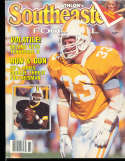 1988 SEC Southeastern Conference Tennessee Athlon National College Football Annual Yearbook Guide