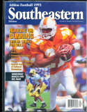 1993 SEC Southeastern Conference Tennessee Heath Shuler Athlon National College Football Annual Yearbook Guide