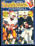 1987 SEC Southeastern Conference Tennessee Athlon National College Football Annual Yearbook Guide
