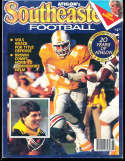 1986 SEC Southeastern Conference Tennessee Athlon National College Football Annual Yearbook Guide