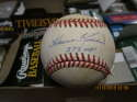 Harmon Killebrew #573 hrs Signed OAL Budy Baseball stain