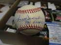 Reggie Jackson #563 hr Signed OAL Budy Baseball mint