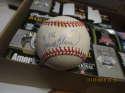 Frank Robinson #586 Signed ONL White mlb Baseball mint