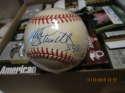 Mike Schmidt #548 Signed Baseball nm slight stain