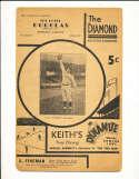 1934 Baltimore Orioles vs Montreal Minor league unscored program