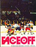 1973 Houston Aeros vs Toronto toros WHA Hockey League Program