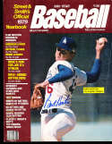 1979 Street Smith baseball yearbook Burt Hooton Dodgers signed bxb