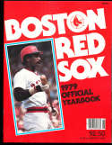 1979 Boston Red sox Yearbook nm bxyb