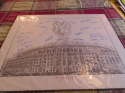 1961 new York Yankees Stadium print signed by 24 players berra, Ford, etc