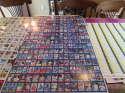 1986 fleer baseball card mini uncut sheet 15x16 = 240 cards