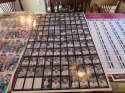 1991 Conlan collection The Sporting News 6 uncut sheets 110 cards per sheet
