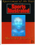 1991 Michael Jordan Sports Illustrated Sportsman of the Year proof (bk1)