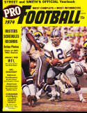 1974 Pro Football Street & Smith Yearbook Roger Staubach Cowboys bss1