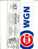 chicago Cubs WGN bumper sticker  12