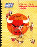 1996 Nba Playoffs Chicago Bulls Media Guide bx 15 Michael Jordan