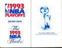 1993 NBA Playoffs Record Book bxguide