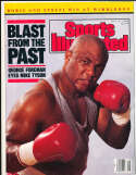 7/17 1989 George Foreman no label sports Illustrated b10
