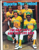 4/27 1981 Mike Norris Oakland A's no label sports Illustrated b10