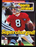 1/23 1995 Steve Young 49ers Sports illustrated no label bx10
