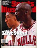 6/8 1998 Sports Illustrated Michael Jordan Bulls nm no label bxs12