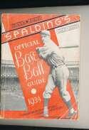1934 Spalding Baseball Guide vg