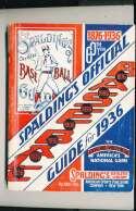 1936 Spalding Baseball Guide ex