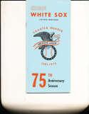1975 Chicago White Sox Baseball Media Guide