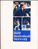 1981 SMU Basketball Media Guide