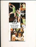 1979 North Texas Basketball Media Guide