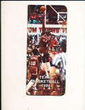1981 University of Texas Basketball Media Guide