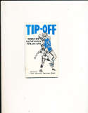 1980 University of Kentucky Tip Off Basketball Media Guide