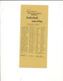 1972 Humboldt State Basketball Wrestling Media Guide