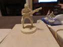 1955 Richie Ashburn Phillies Robert Gould all star Statue white nm