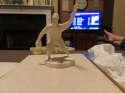 1955 Curt Simmons Phillies Robert Gould all star Statue em