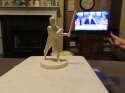 1955 Sid Gordon Braves Robert Gould Statue all star em