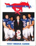 1997 SMU Football Media Guide bx32