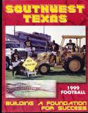 1999 Southwest Texas Football Media Guide bx32
