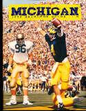 1986 Michigan Football Media Guide bx32