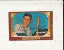Willard marshall White sox #131 creased 1955 Bowman card Signed