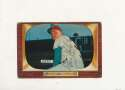 Steve Ridzik Phillies #111 creased 1955 Bowman card Signed