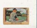 Royce Lint Cardinals #62 1955 Bowman card Signed