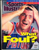 11/5 1990 Bill Laimbeer Pistons Sports Illustrated near mint no label