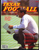1986 Dave Campbell's Texas Football Yearbook Guide bxdc