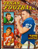 1966 Dave Campbell's Texas Football Magazine em bxdc