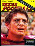 1972 Dave Campbell's Texas Football Magazine bxdc