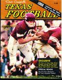 1968 Dave Campbell's Texas Football Magazine em bxdc