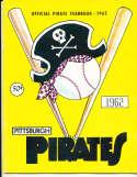 1962 Pittsburgh Pirates Baseball Yearbook ex v1