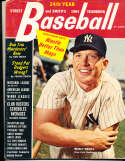 1964 Mickey Mantle Yankees Street Smith Baseball Yearbook vg v1